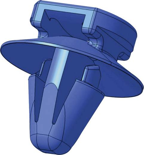 Kabelbinder 200 mm Schwarz mit Spreizanker am Teller gedichtet HellermannTyton 155-42002 T50ROSSFT6,5-16-2-BK 1 St.