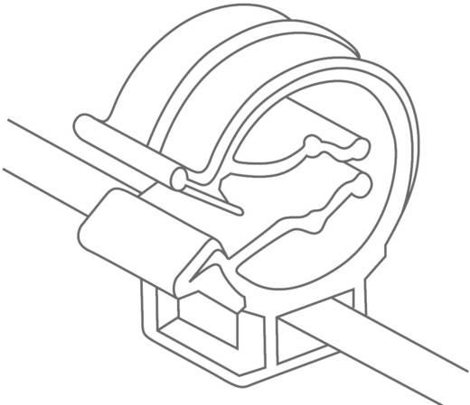 Kabelbinder 150 mm Schwarz Kabelbündelung seitlich zur Montage HellermannTyton 156-00505 T30ROC1B 1 St.