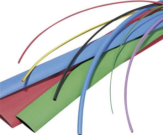 Schrumpfschlauch ohne Kleber Grün-Gelb 6.40 mm Schrumpfrate:2:1 HellermannTyton 309-50647 TF21-6,4/3,2-GNYE Meterware