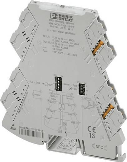 Konfigurierbarer 3-Wege-Trennverstärker Phoenix Contact MINI MCR-2-UI-UI-PT 2902040 1 St.