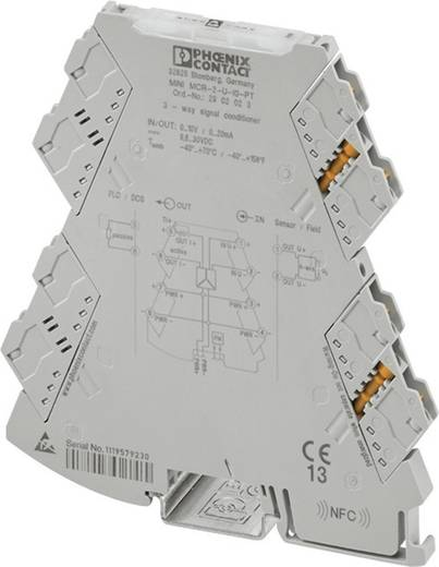 3-Wege-Trennverstärker Phoenix Contact MINI MCR-2-U-I0 2902022 1 St.