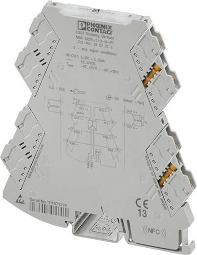 3-Wege-Trennverstärker Phoenix Contact MINI MCR-2-U-I4 2902029 1 St.