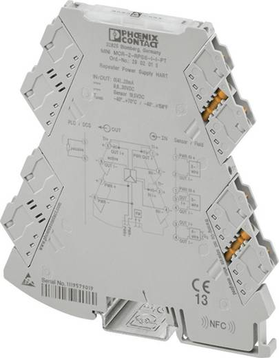 3-Wege-Speisetrennverstärker Phoenix Contact MINI MCR-2-RPSS-I-I 2902014 1 St.