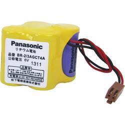 Speciální lithiová Panasonic Li-Ion BR2/3AGCT4A s konektorem 6 V, 2400 mAh