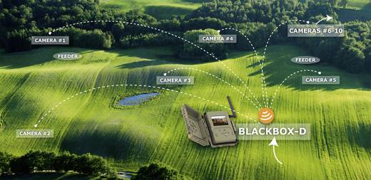 Wildkamera Spypoint Tiny WBF 8 Mio. Pixel Black LEDs, WLAN Camouflage Braun