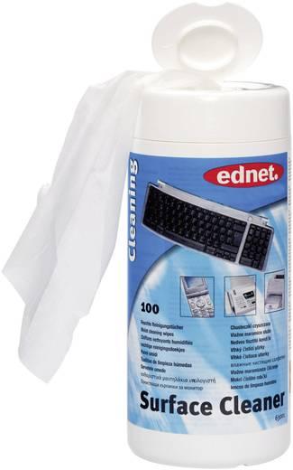 ednet 63001 Oberflächen-Reinigungstücher 100 Blatt