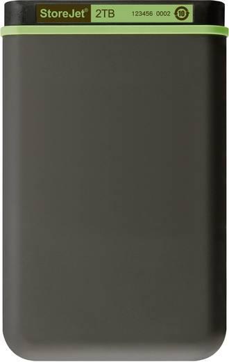 Externe Festplatte 6.35 cm (2.5 Zoll) 2 TB Transcend StoreJet 25M3 Eisen-Grau USB 3.0