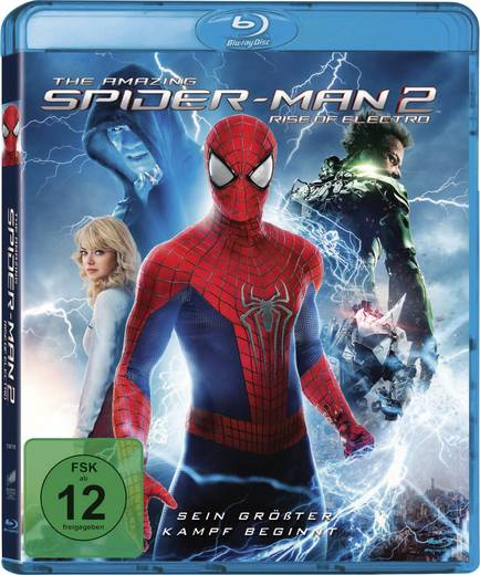 blu-ray The Amazing Spider-Man 2 - Rise of Electro FSK: 12
