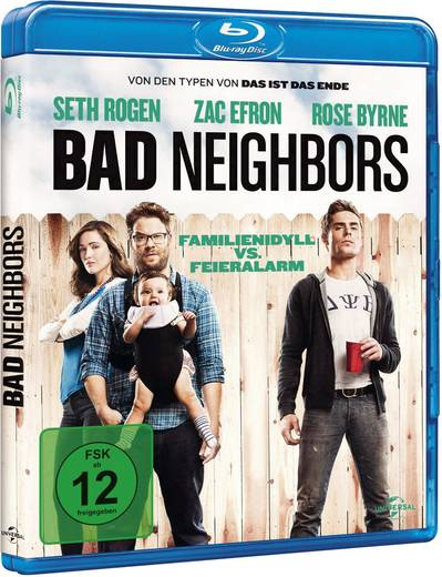 blu-ray Bad Neighbors FSK: 12