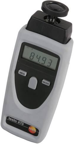 Image of testo 0563 0465 Drehzahlmesser optisch 1 - 99999 U/min Werksstandard (ohne Zertifikat)