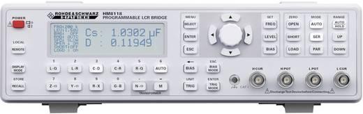 Komponententester digital Rohde & Schwarz HM8118 Kalibriert nach: Werksstandard (ohne Zertifikat) CAT I Anzeige (Counts