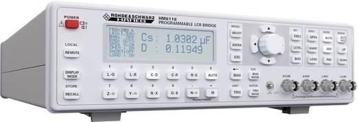 Rohde & Schwarz HM8118 Komponententester digital Kalibriert nach: DAkkS CAT I Anzeige (Counts): 1200000