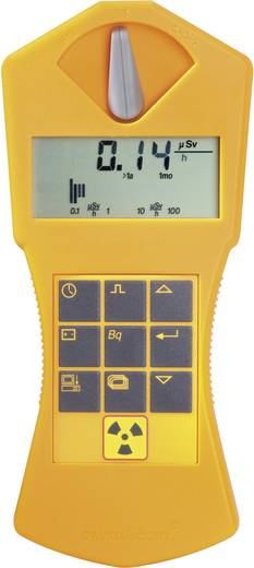 GAMMA-SCOUT® Rechargeable Geigerzähler, Radioaktivitäts-Messgerät