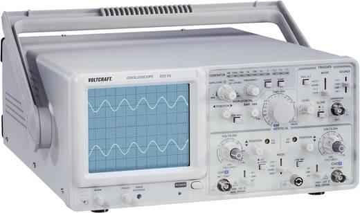 Analog-Oszilloskop VOLTCRAFT 632 FG 30 MHz 2-Kanal Funktionsgenerator