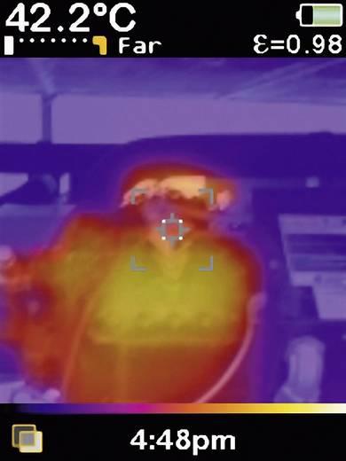 Infrarot-Thermometer Fluke VT04A -10 bis +250 °C Pyrometer