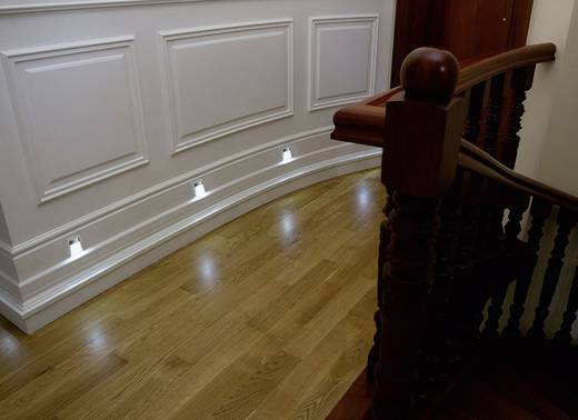 SKOFF TANGO SHORT K/H MS-TAN-K-H-1-PL-00-01 LED-Einbauleuchte 1.6 W Warm-Weiß Edelstahl