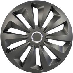 Poklice na kola Fox R16 černá (matná) 4 ks cartrend