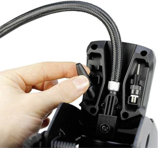 Fußpumpe 3.4 bar Michelin 92420 1 Zylinder, Digitales Display