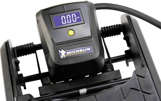 Michelin 92420 Fußpumpe 3.4 bar 1 Zylinder, Digitales Display