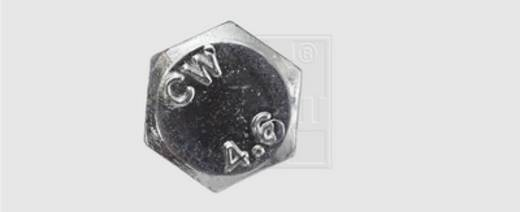 SWG Sechskantschraube 50 mm Außensechskant DIN 601 Stahl verzinkt 100 St.