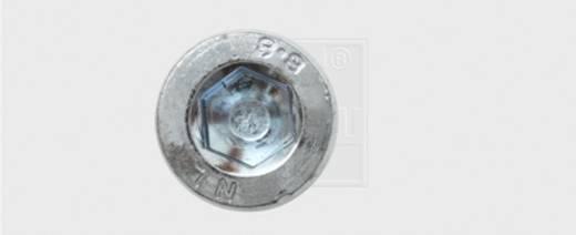 SWG Innensechskantschrauben 10 mm Innensechskant Stahl verzinkt 100 St.