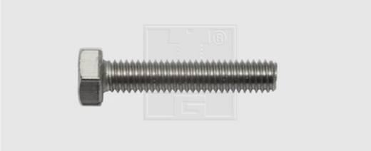 Sechskantschrauben M8 50 mm Außensechskant DIN 933 Edelstahl A2 25 St. SWG