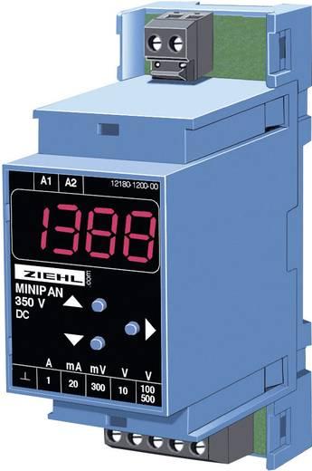 Ziehl MINIPAN 350 DC Digitales Mess- und Schaltgerät MINIPAN 350 DC 1 mV - 500 V/DC / 1 mA - 1 A