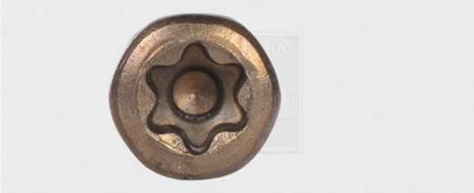 SWG Terrassenschrauben 5.5 mm 50 mm T-Profil Edelstahl A2 thermisch gebräunt 500 St.
