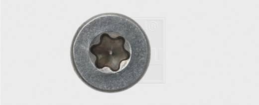 Spanplattenschrauben 5 mm 80 mm Innenvielzahn Edelstahl A2 10 St. SWG