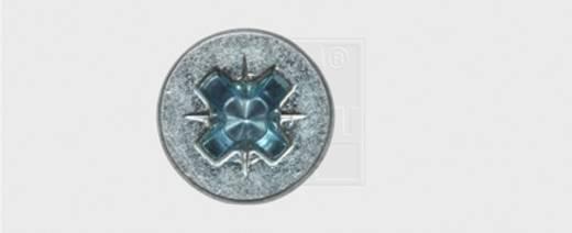 Spanplattenschrauben 3 mm 20 mm Kreuzschlitz Pozidriv Stahl verzinkt 1000 St. SWG