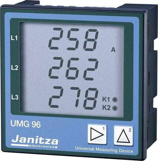 Janitza UMG 96 Vierleiter Universal-Messgerät Spannung: L-N 196 - 275 VAC, L-L 340 - 475 VAC, 45 - 65 Hz · Strom: 0 - 5
