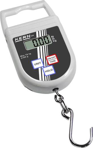 Hängewaage Kern Wägebereich (max.) 50 kg Ablesbarkeit 50 g