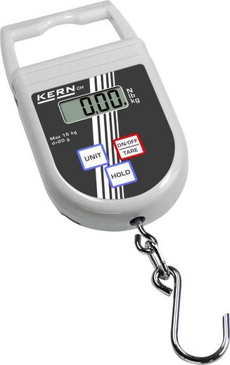 Kern Hängewaage Wägebereich (max.) 50 kg Ablesbarkeit 50 g