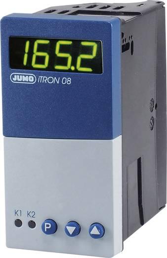 Jumo iTRON 08 H PID Temperaturregler Pt100, Pt1000, KTY11-6, L, J, U, T, K, N, S, R, B -200 bis +1820 °C Relais 3 A, Tra