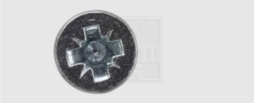 Spanplattenschrauben 3 mm 16 mm Kreuzschlitz Pozidriv Stahl verzinkt 50 St. SWG