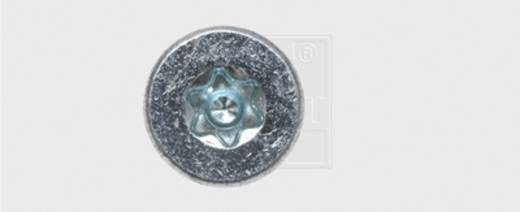 Spanplattenschrauben 4.5 mm 50 mm T-Profil Stahl verzinkt 250 St. SWG Formel F