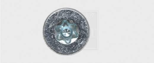 Spanplattenschrauben 6 mm 50 mm T-Profil Stahl verzinkt 200 St. SWG Formel F