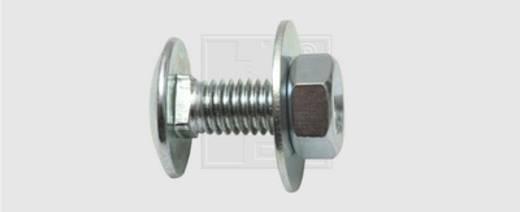 SWG Schnellbauschrauben 19 mm Außensechskant Stahl verzinkt 100 St.