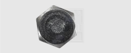 Holzschraube 6 mm 80 mm Außensechskant DIN 571 Stahl verzinkt 100 St. SWG