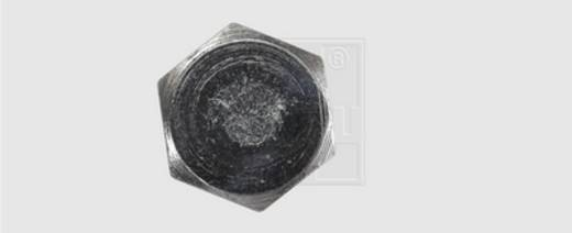 SWG Holzschraube 7 mm 100 mm Außensechskant DIN 571 Stahl feuerverzinkt 100 St.