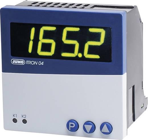 PID Temperaturregler Jumo iTRON 04 Pt100, Pt1000, KTY11-6, L, J, U, T, K, N, S, R, B -200 bis +1820 °C Relais 3 A, Trans