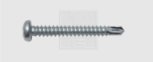 Bohrschrauben 4.2 mm 19 mm Kreuzschlitz Phillips DIN 7504-N Stahl verzinkt 100 St. SWG