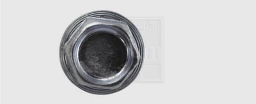 Bohrschrauben 4.8 mm 22 mm Außensechskant DIN 7504-K Stahl verzinkt 200 St. SWG