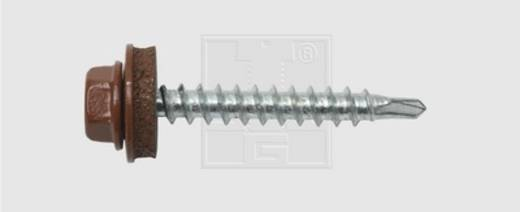 SWG Bohrschrauben 4.8 mm 35 mm Außensechskant Stahl verzinkt 100 St.