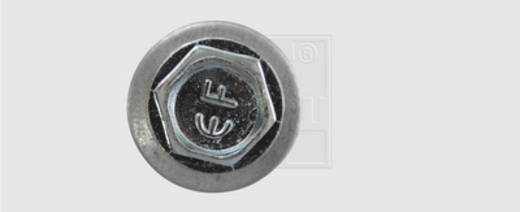 Bohrschrauben 6.3 mm 100 mm Außensechskant DIN 7504-K Stahl verzinkt 100 St. SWG