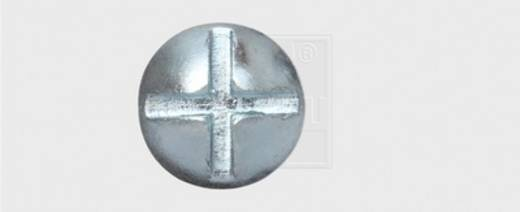SWG Möbelbauschrauben M8 50 mm Außensechskant Stahl verzinkt 100 St.