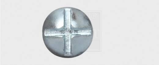 SWG Möbelbauschrauben M8 80 mm Außensechskant Stahl verzinkt 100 St.