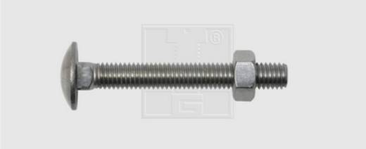 Flachrundkopfschraube 70 mm Außensechskant DIN 603 Edelstahl A2 10 St. SWG
