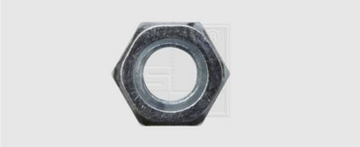 Sechskant-Mutter M4 DIN 934 Stahl verzinkt 100 St. SWG 317420