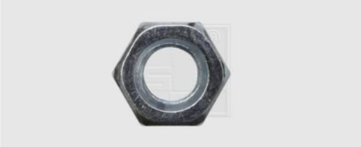 SWG Sechskant-Mutter M6 DIN 934 Stahl verzinkt 100 St.
